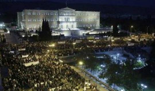 Greek Austerity Vote