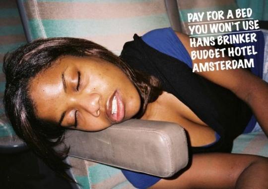 Hans Brinker Budget Hostel  ad