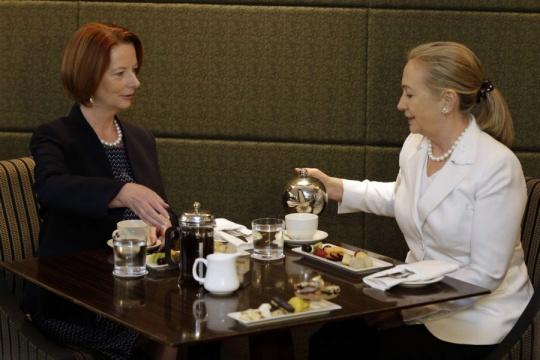 Hillary Clinton Praises Australia-India Relationship