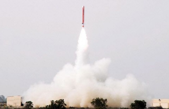 Pak Test-Fires N-capable Ballistic Missile