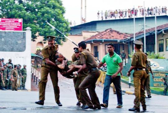 Sri Lanka Prison Riot