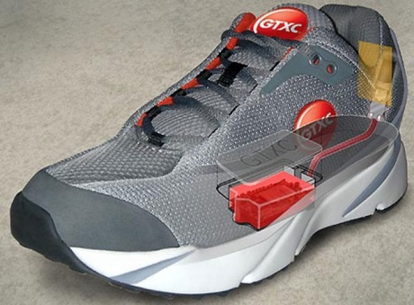 Shoe with in-built GPS!