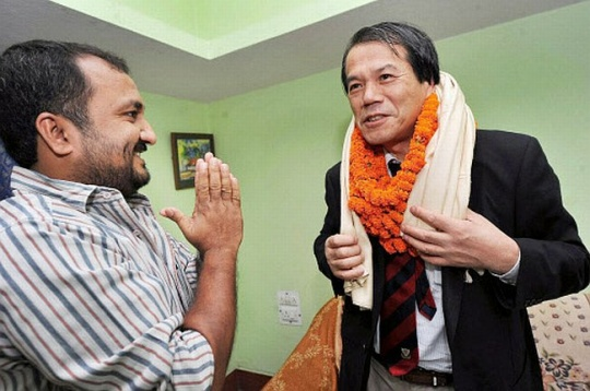 Anand Kumar with Hiroshi Yoshino