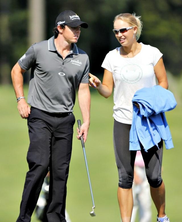 Caroline Wozniacki & Rory McIlroy