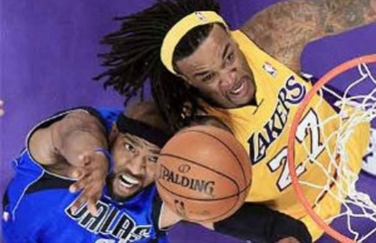 Dallas Maverick and Jordan Hill