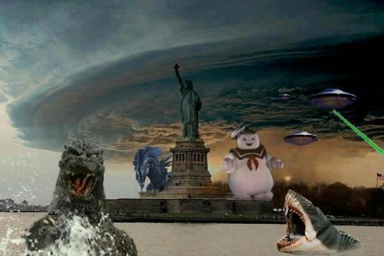Dumbest Sandy Pictures on Facebook