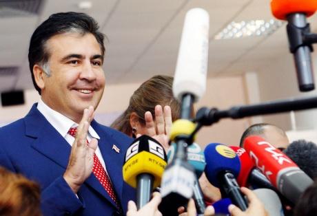 Georgia's President Mikheil Saakashvili
