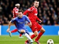 Mata's double helps Chelsea down Danes