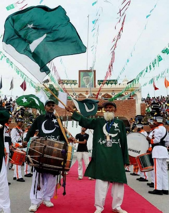 Wagah Border Bids Goodbye to Chacha Pakistani