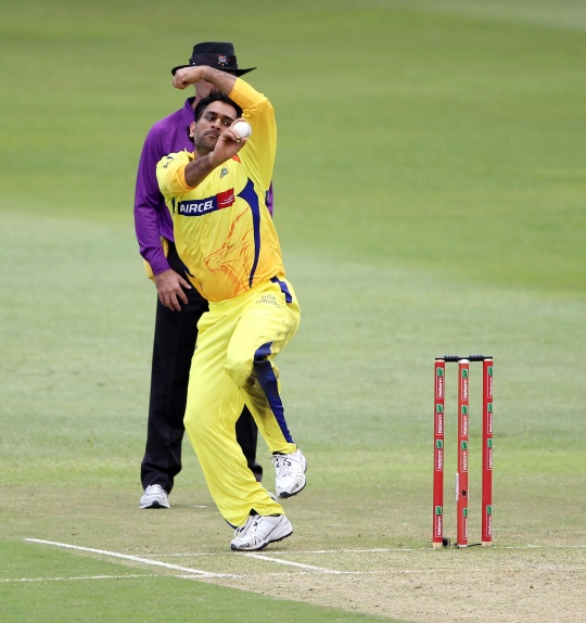 Dhoni plays under Raina, bowls two overs