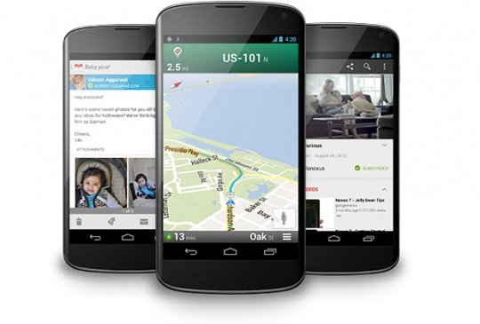 Google Launches Nexus 4: Key Features