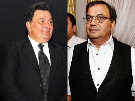 Rishi Kapoor and Subhash Ghai
