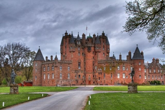 Scotland's haunted castles