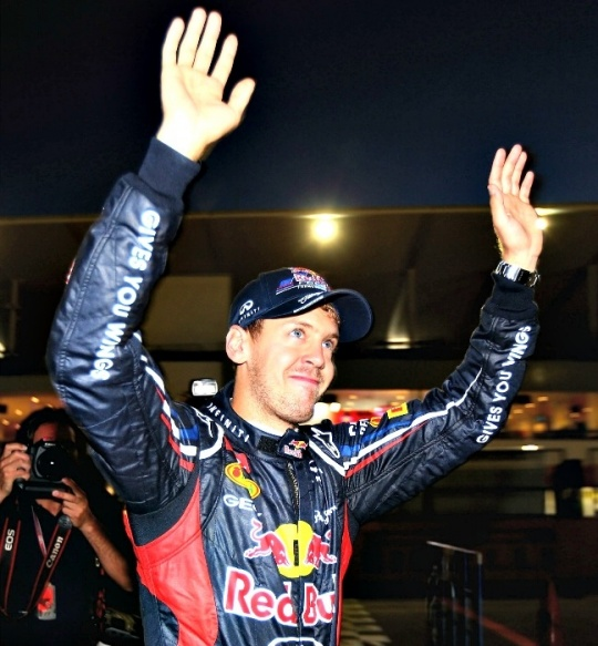 Formula No. 1: In India, V stands for Vettel
