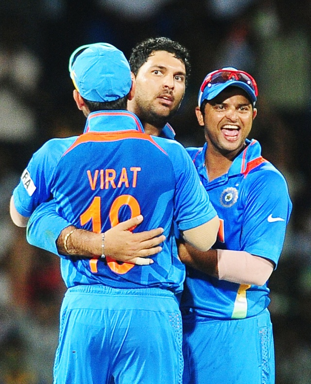 India Need Pie-Chucker Yuvi!