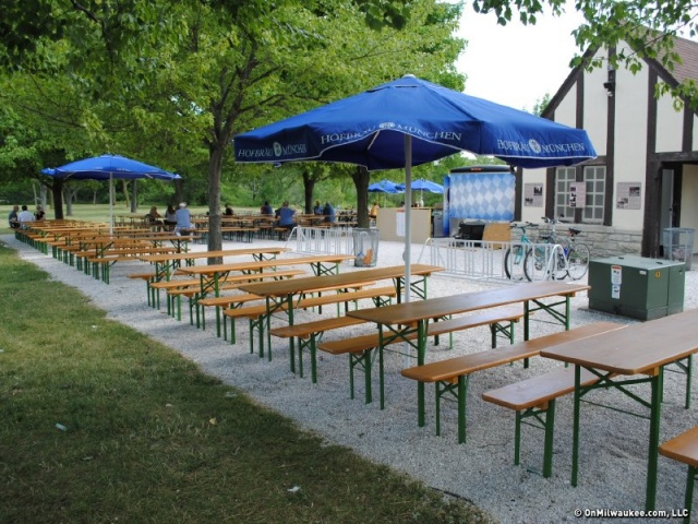 Estabrook Park Beer Garden, Wisconsin