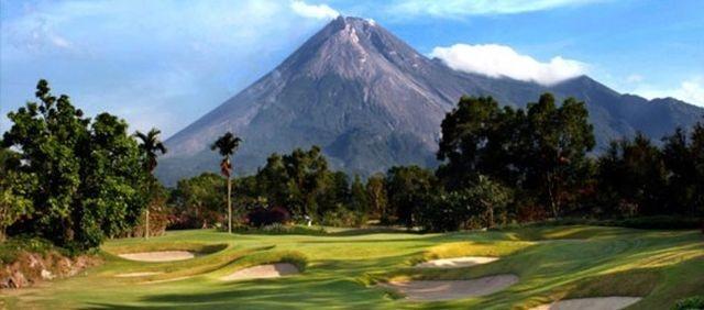 Merapi Golf Course, Yogyakarta, Indonesia