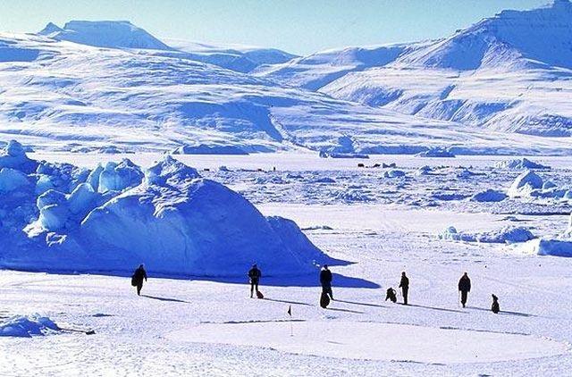 World Ice Golf Championship, Uummannaq, Greenland
