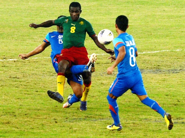 Nehru Cup final: Cameroon can spoil India's party