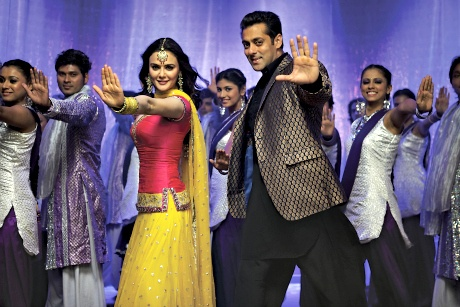 Salman Khan and Preity Zinta