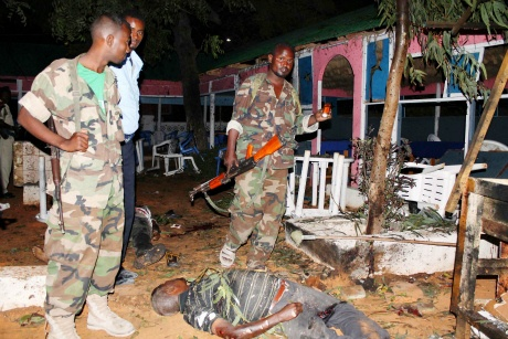 Somalia suicide bombing