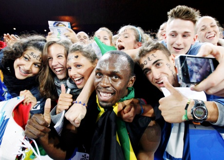 I stayed on for the fans: Bolt
