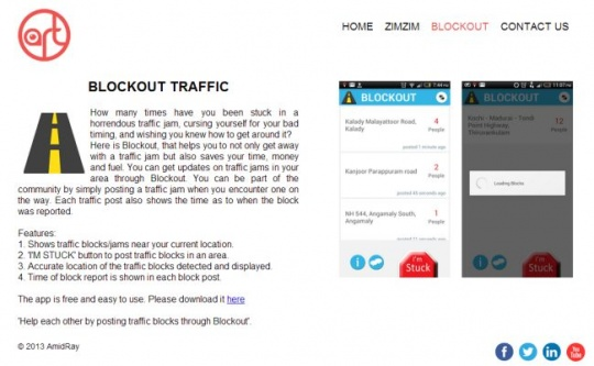 Blockout App