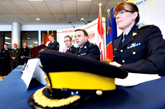 RCMP chief superintendent Jennifer Strachan