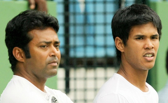 Leander Paes and Somdev Devvarman