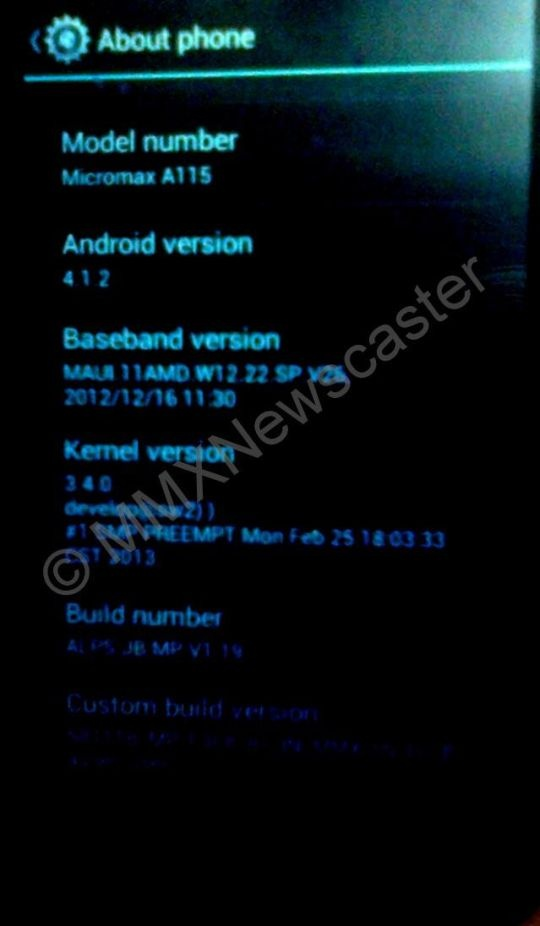 Micromax Canvas 3D Leak Main Article