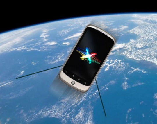 NASA phone satellite