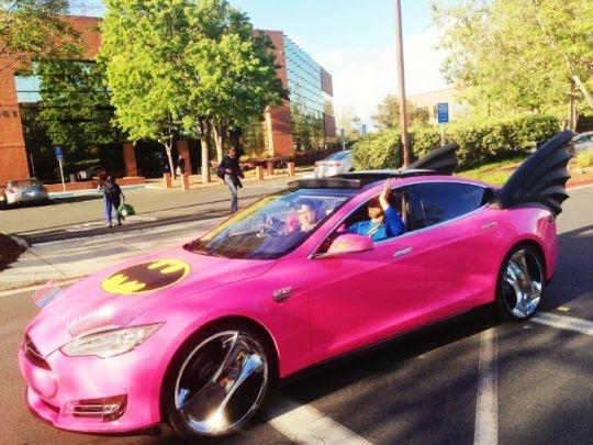 Sergey Brin Batmobile