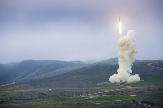 Ground-based Midcourse Defense launch