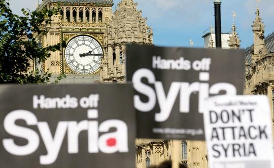 UK Parliament Votes Against Air Strikes on Syria
