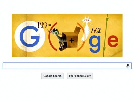 Schrodinger google doodle