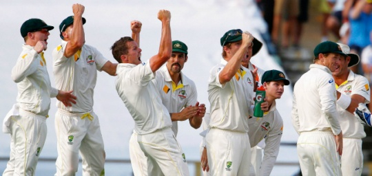 Aussies On the Brink of 3-0 Series Lead