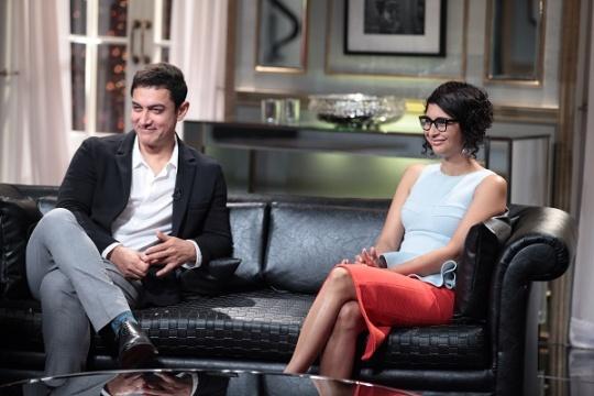 Aamir Khan and Kiran Rao on Koffee With Karan