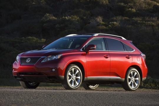 Midsize Premium Crossover: 2010 Lexus RX
