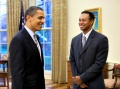Barack Obama Tees It Up with Tiger Woods