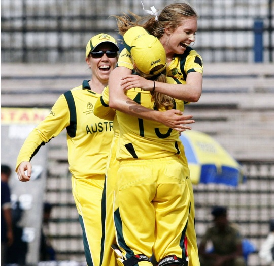 Australian Women Beat Pak by 91 Runs