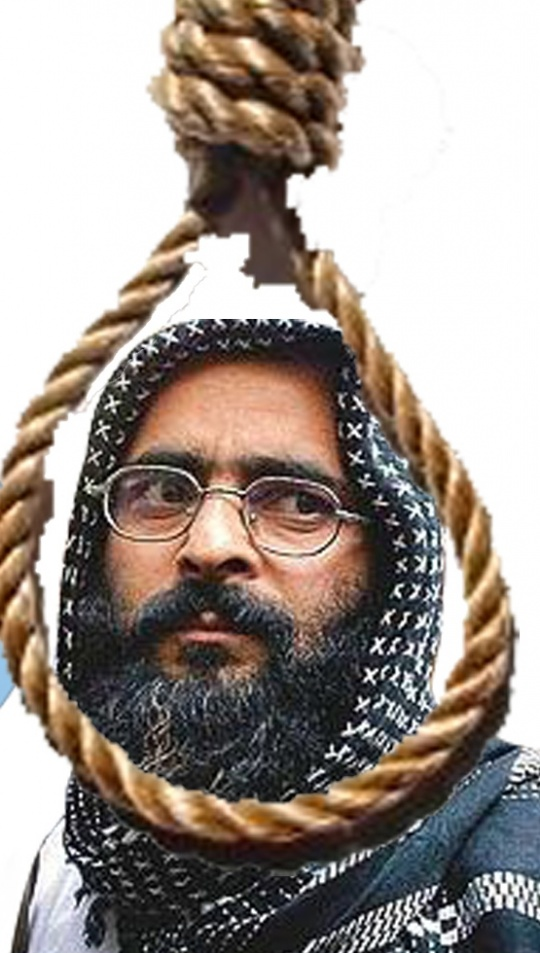 Afzal Guru Hanged to Death