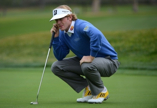 Snedeker, Hahn Share Lead at Pebble Beach