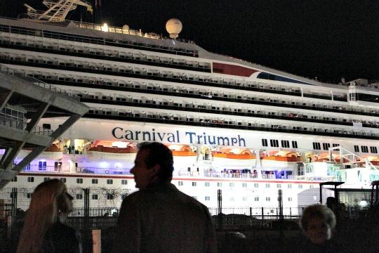 Carnival Ship Triumph