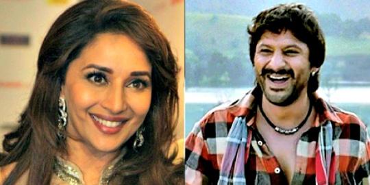 Madhuri Dixit and Arshad Warsi