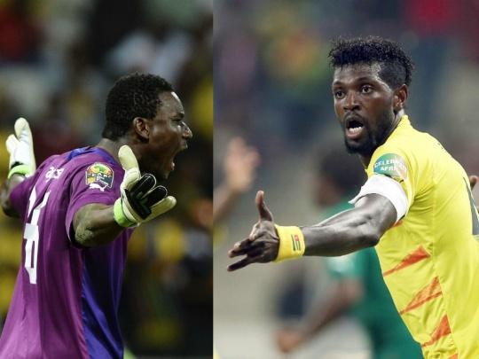 Emmanuel Adebayor & Kossi Agassa