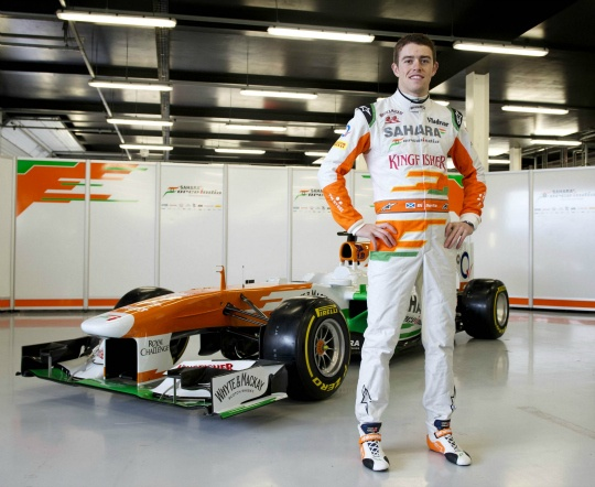 Force India Makes Sure Car is the Star