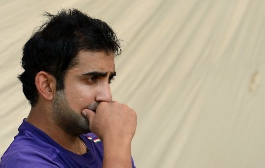 Gautam Gambhir Dropped 