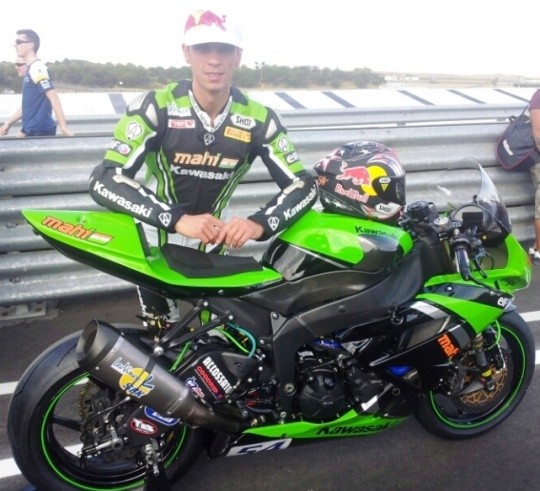 Mahi Racing Eyes World Supersport Pole Finish