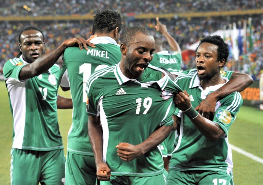 Nigeria Beat Burkina to Win Africa Cup