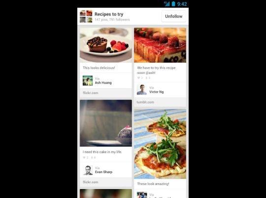 pinterest main app